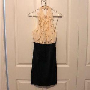 BCBG Maxazria halter dress (size 4)